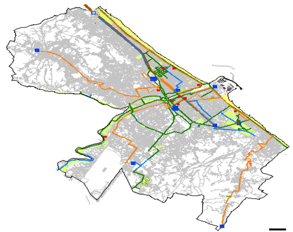 Mappa della strategia di sviluppo urbano sostenibile - Comune di Pescara