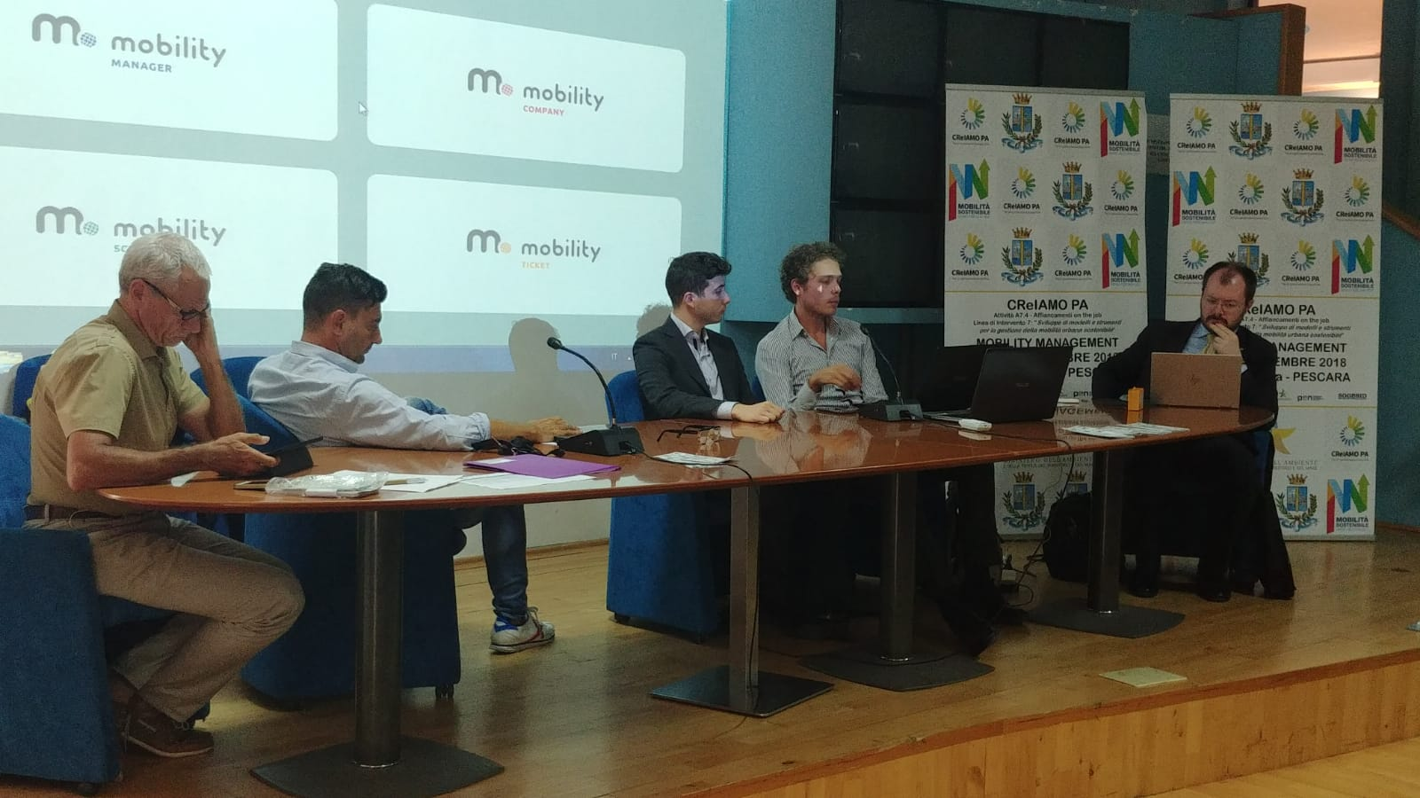 Presentazione del software Mobility School di CReIAMO-PA