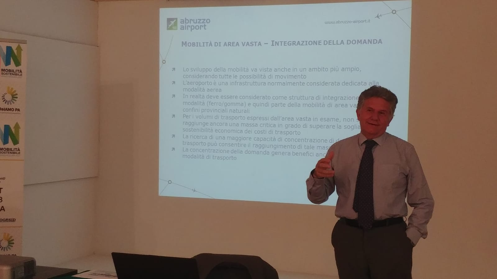 il Direttore generale di Saga Luca Ciarlini a CReIAMO-PA