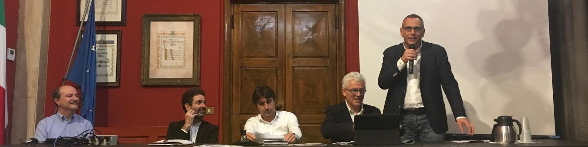 """Il sindaco alla Scuola di Bicipolitana"""" a Pesaro"""